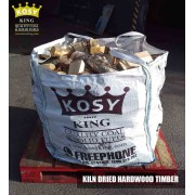 Kiln Dried Hardwood Timber Bulk Bag