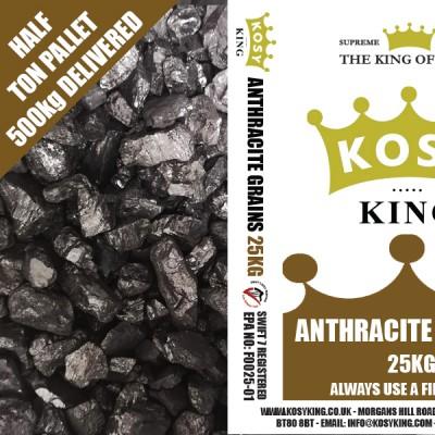 Smokeless Anthracite Singles (Half Ton)