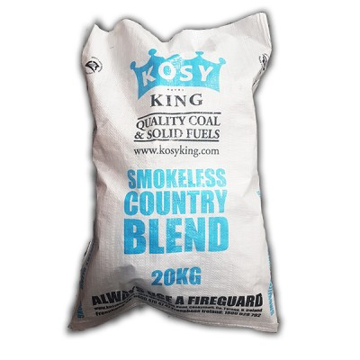 Low Smoke Country Blend (Half Ton)