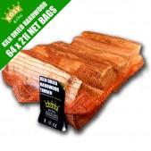 Kiln Dried Hardwood Timber (64 x 21L Bags)