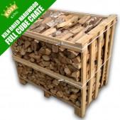 Kiln Dried Hardwood Timber Cube Crate