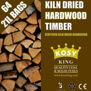 Kiln Dried Hardwood Logs (72 x 20L Bags)