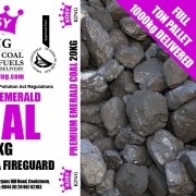 Premium Emerald Colombian Coal (Full Ton)