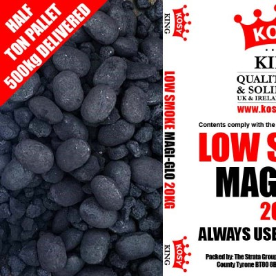 Low Smoke MagiGlo Smokeless (Half Ton)