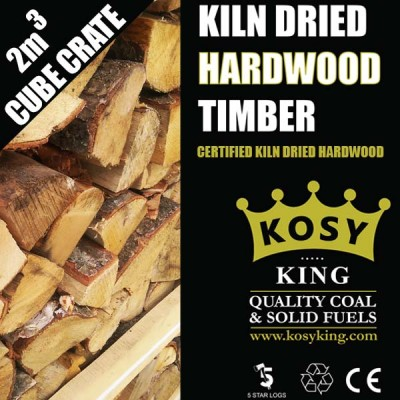 Kiln Dried Hardwood Timber 2m3 Crate