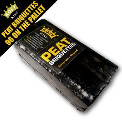 Peat Briquettes (96 Bales)