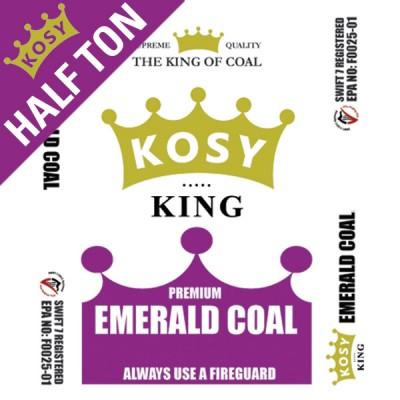 Premium Emerald Coal (Half Ton)