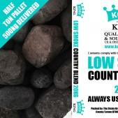 Low Smoke Country Blend (Half Ton)