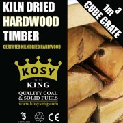 Kiln Dried Hardwood Timber Cube Crate
